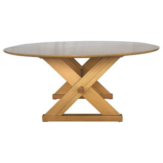 Paul Laszlo Dining Table With Leaf