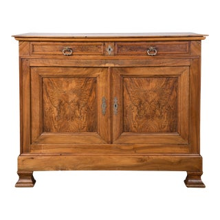 Louis Philippe Walnut Sideboard/ Credenza