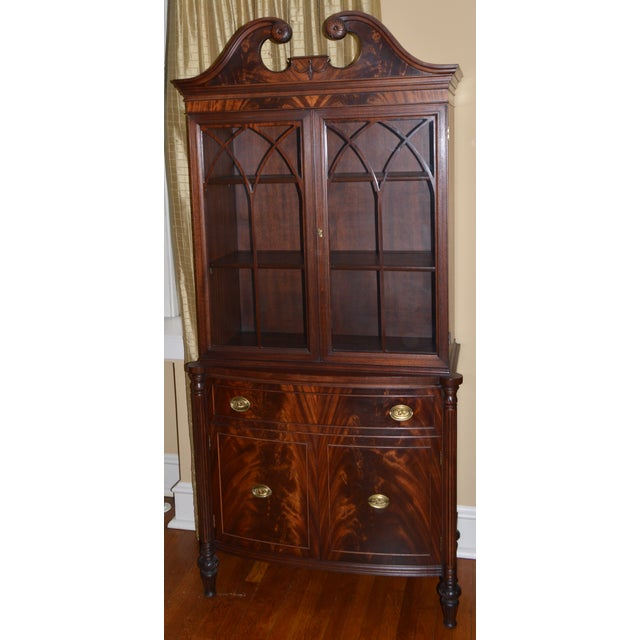 1930s Mahogany China Cabinet - Image 2 of 6