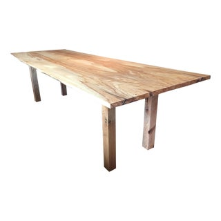Ash and Oak Rustic Dining/Conference Table