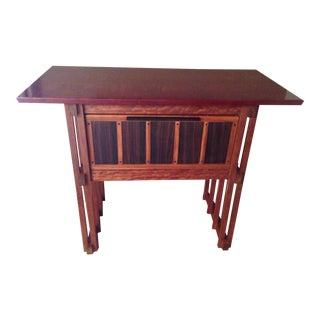 Anthony Beverly Mission Style Stand Up Desk