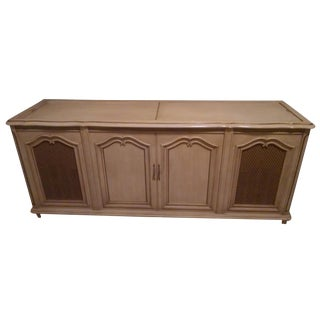 French Provincial Cabinet with Record Player