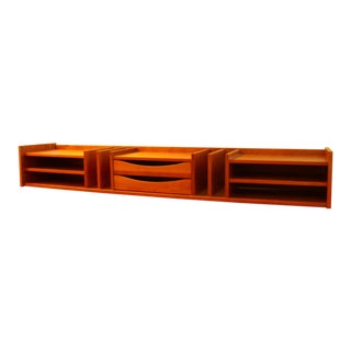 Danish Teak Desk Organizer or Wall Unit by Pedersen & Hansen
