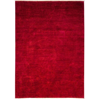 """Vibrance Over Dyed Hand Knotted Area Rug - 6'1"""" X 8'6"""""""
