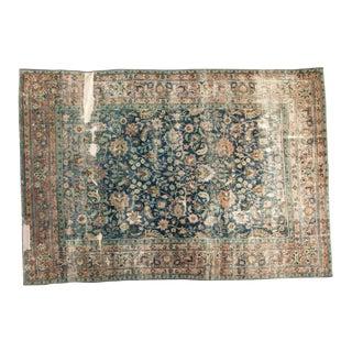 """Antique Distressed Doroksh Carpet - 6'6"""" X 10'6"""""""