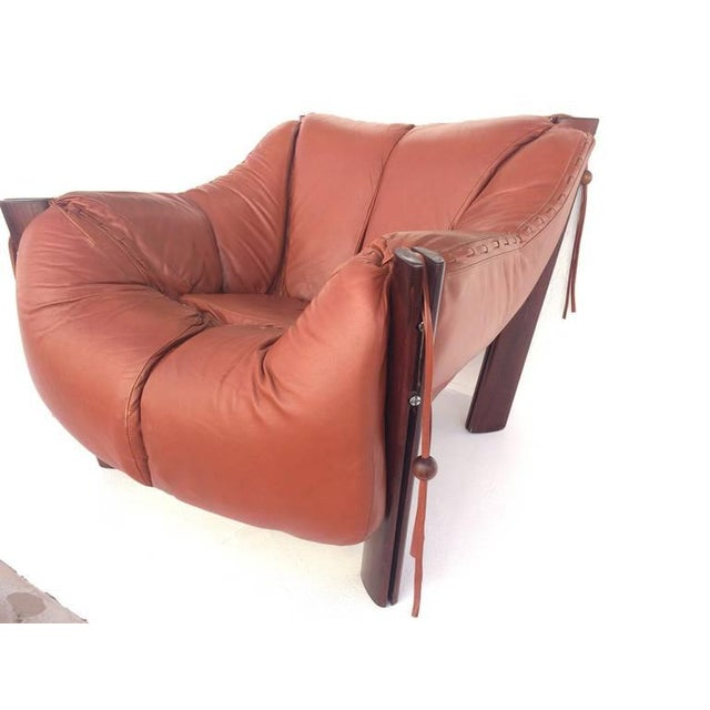 Jacaranda Rosewood & Leather Lounge Chair by Percival Lafer - Image 10 of 10