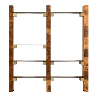 Paul Evans Mid-Century Wall-Mounted Bookshelf