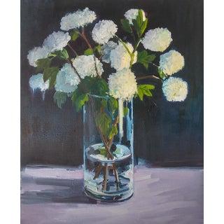 Hydrangeas Print by Paula McCarty