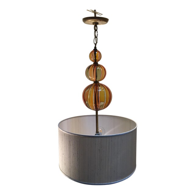 Image of Tracy Glover Striped Cairn Pendant
