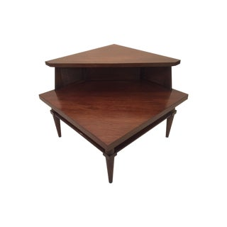Century Furniture Two Tier Corner Table