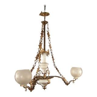 Rococo 'Rose' Light Fixture