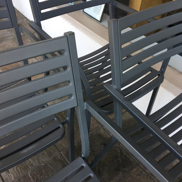 Emu Segno Stackable Outdoor Dining Chairs - Set of 4 - Image 5 of 8