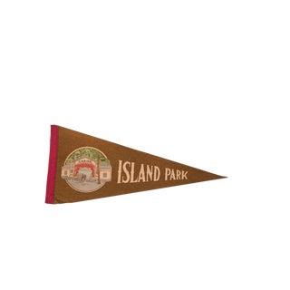 Island Park Casino Felt Flag