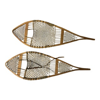 Vintage Snow Shoes - A Pair