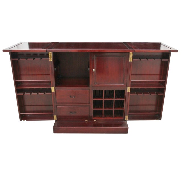 Rosewood Bar and Cabinet - Image 1 of 6