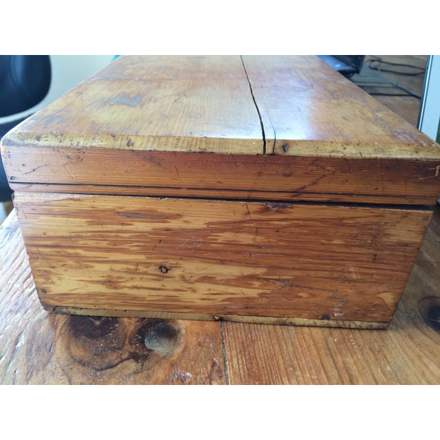 Rustic Wooden Storage Box - Image 6 of 6