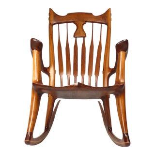 Dave Hentzel Hand-Crafted Rocking Chair