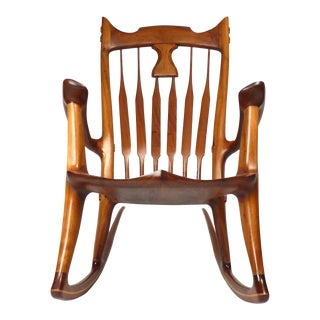 Dave Hentzel Hand-Crafted Rocking Chair