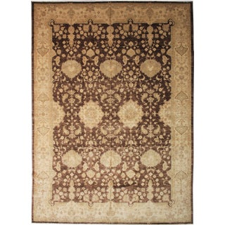"Hand Knotted Area Rug by Aara Rugs Inc. - 13'4"" X 9'11"""