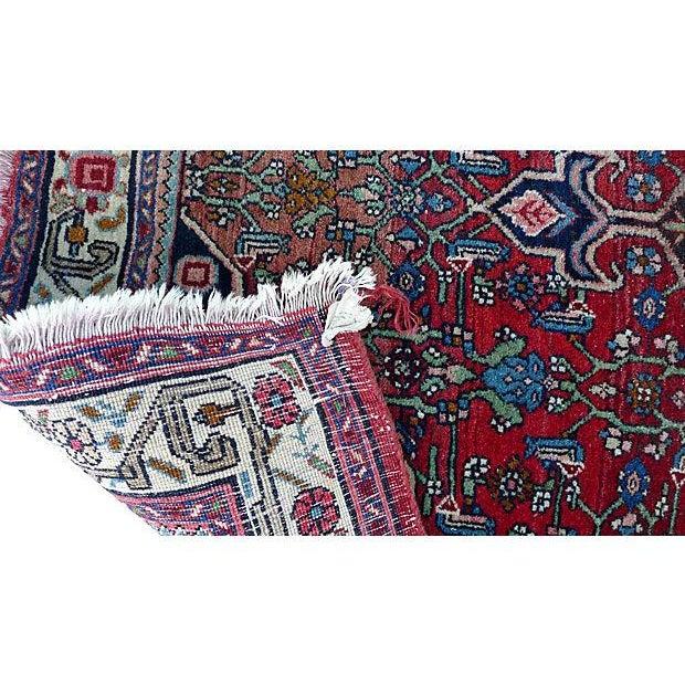 """Persian Bijar Rug - 4'10"""" X 3'5"""" - Image 4 of 6"""