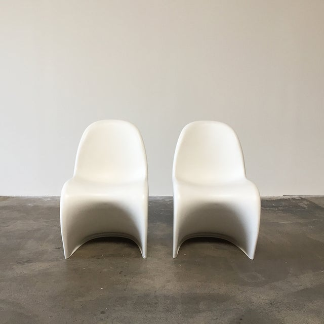 Vitra White 'Panton' Dining Chair - Image 4 of 4