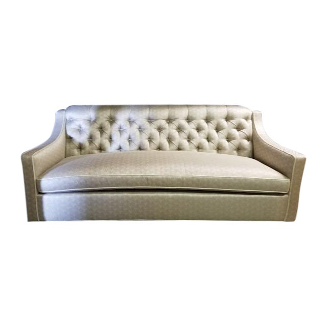 High Back Tufted Sofa Bed Chairish