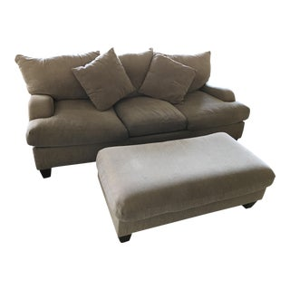 Bernhardt Couch and Ottoman