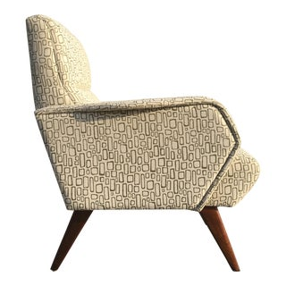 Mid-Century Italian Inspired Lounge Chair
