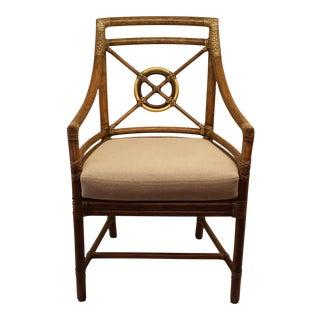 McGuire Rattan Target® Arm Chair