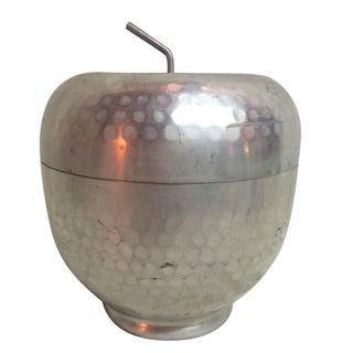 Hammered Aluminum Apple Container