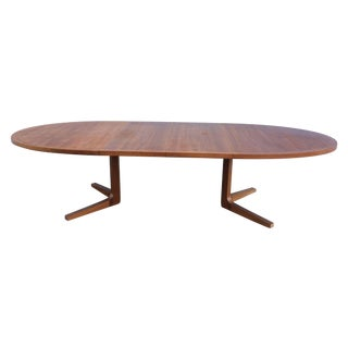 Danish Modern Teak Dining Table By Dyrlund