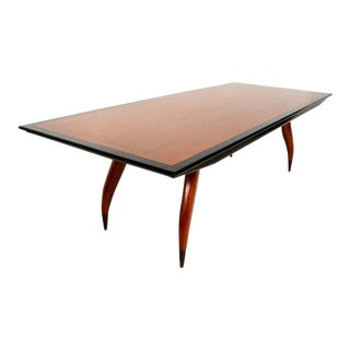 Mexican Modernist Dining Table Attributed to Eugenio Escudero