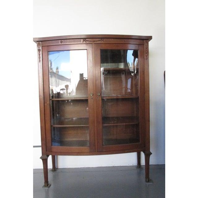 Mahogany Display Cabinet - Image 2 of 6