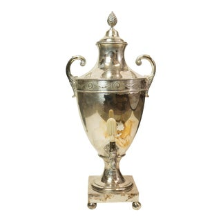 19th Century French Samovar Teapot