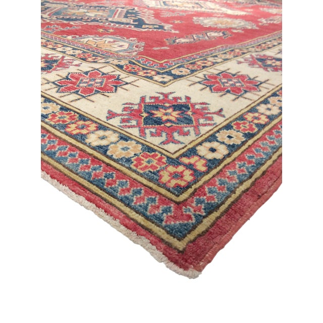 "Pasargad Kazak Hand Knotted Wool Rug - 10' x 13'9"" - Image 2 of 2"