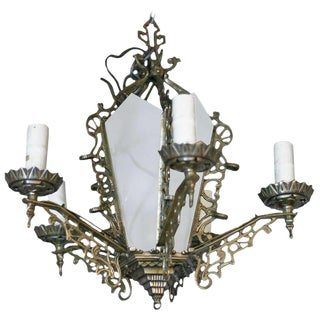 Chandelier with Geometric Details