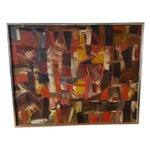 Image of Autumn Abstract Painting