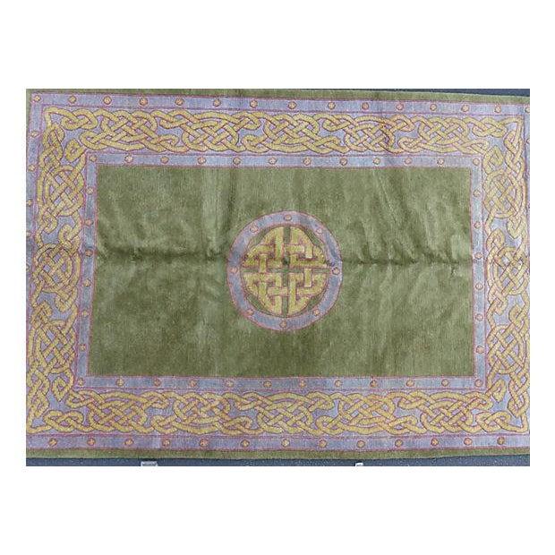 Nepalese Wool Rug- 6' x 9' - Image 3 of 11