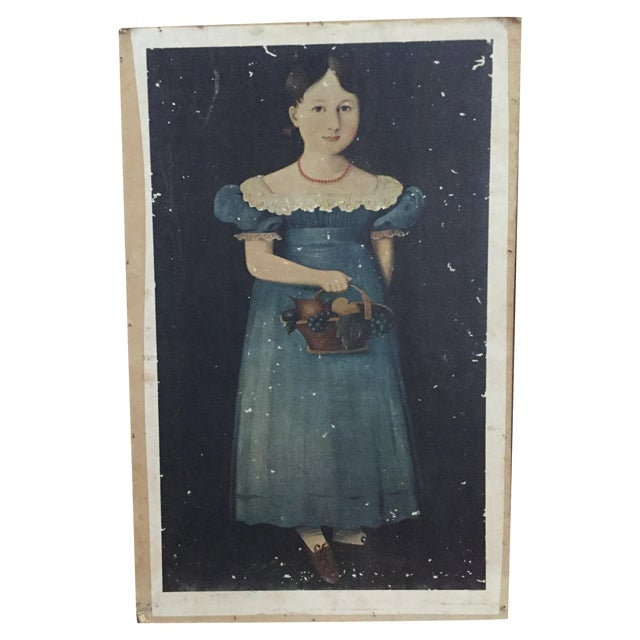 Vintage Print of 19th Century Painting - Image 1 of 4