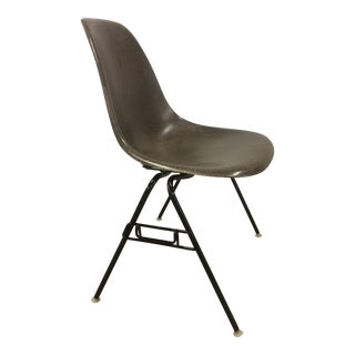 Eames for Herman Miller Seal Brown Fiberglass Shell Chair