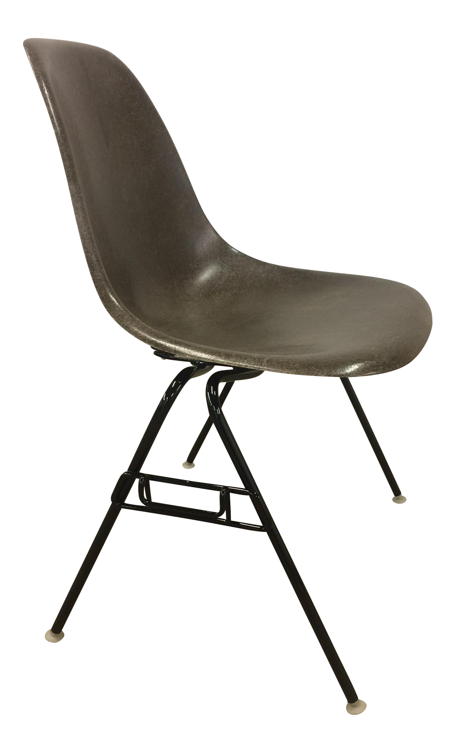 Eames For Herman Miller Seal Brown Fiberglass Shell Chair   Image 1 Of 8