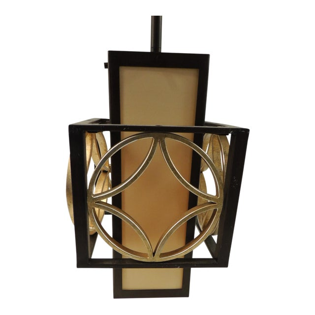 Formation Style Square Hanging Lantern - Image 1 of 5