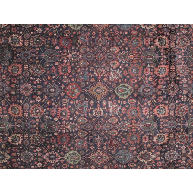 "Bijar Carpet - 11'10"" X 8'9"" - Image 5 of 6"