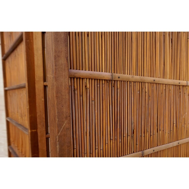 Japanese Room Divider Screen - Image 4 of 6