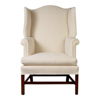 Chippendale Wingback Chair, circa 1780