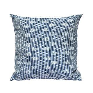 """""""Arjuna Indigo"""" Ikat Pillow Cover"""