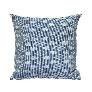 """Arjuna Indigo"" Ikat Pillow Cover"