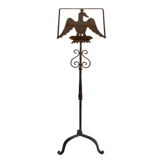 Gilt-Iron Eagle Book Stand