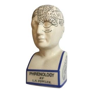 Ceramic Emotional Angles Phrenology Head
