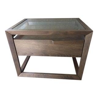 Modern Style Wooden Nightstand